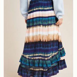 Anthropologie Daniel Rainn Maxi Skirt Size S